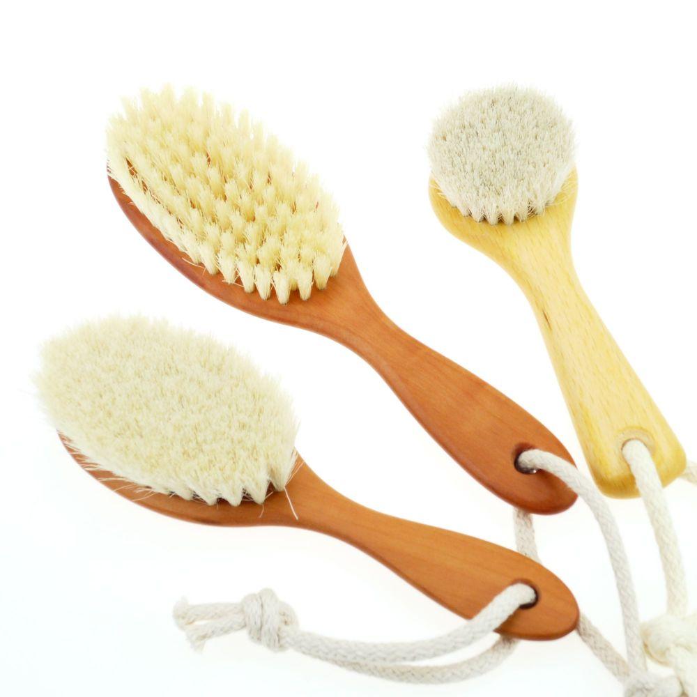 Haarbürste Kopfbürste für Babys und Kinder 3er-Set