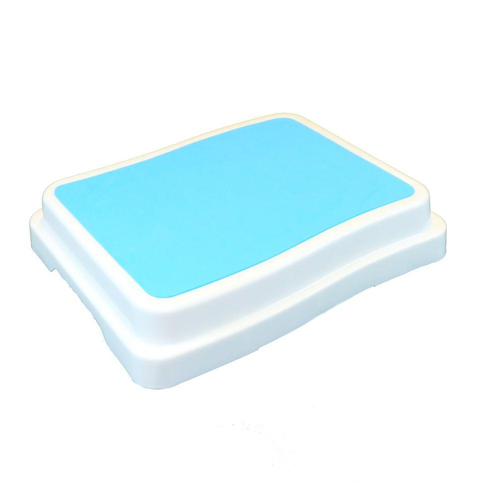 Badewanneneinstiegshilfe blau/weiß